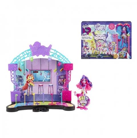 Игровой набор My Little Pony Эквестрия Герлс Рок-концерт Бишкек и Ош купить в магазине игрушек LEMUR.KG доставка по всему Кыргызстану