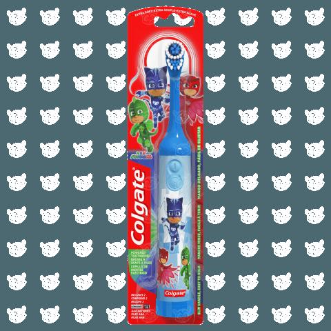 Детская электрическая зубная щетка Colgate 'Герои в масках' Бишкек и Ош купить в магазине игрушек LEMUR.KG доставка по всему Кыргызстану