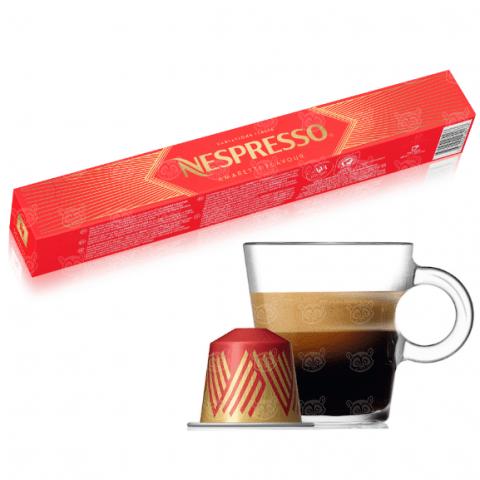 Nespresso бленд Amaretti Flavour Бишкек и Ош купить в магазине игрушек LEMUR.KG доставка по всему Кыргызстану