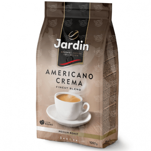 Jardin кофе в зернах Americano Crema, 1 кг Бишкек и Ош купить в магазине игрушек LEMUR.KG доставка по всему Кыргызстану