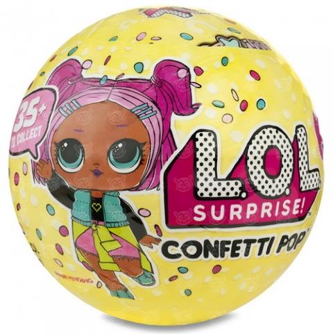 Кукла LOL Surprise 3 сезон 'Конфетти' (оригинал) Бишкек и Ош купить в магазине игрушек LEMUR.KG доставка по всему Кыргызстану
