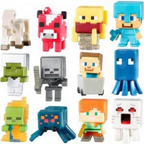 Mega Bloks Майнкрафт Мини фигурки Бишкек и Ош купить в магазине игрушек LEMUR.KG доставка по всему Кыргызстану