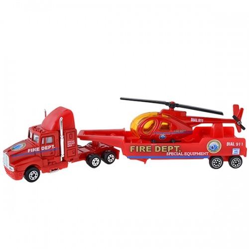 Welly Набор 'Служба спасения - пожарная команда' 9 шт. Бишкек и Ош купить в магазине игрушек LEMUR.KG доставка по всему Кыргызстану