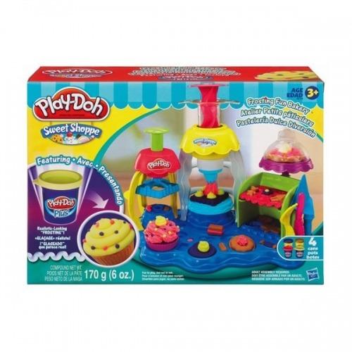 Игровой Play-Doh PLUS 'Фабрика пирожных' Бишкек и Ош купить в магазине игрушек LEMUR.KG доставка по всему Кыргызстану