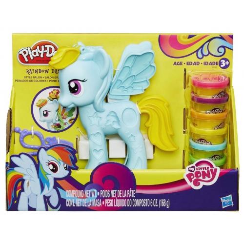 Игровой Play-Doh 'Моя маленькая пони' Бишкек и Ош купить в магазине игрушек LEMUR.KG доставка по всему Кыргызстану