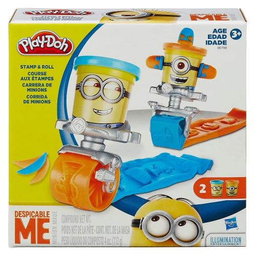 Игровой ролл-печатей Play-Doh 'Гадкий Я - Миньон' Бишкек и Ош купить в магазине игрушек LEMUR.KG доставка по всему Кыргызстану