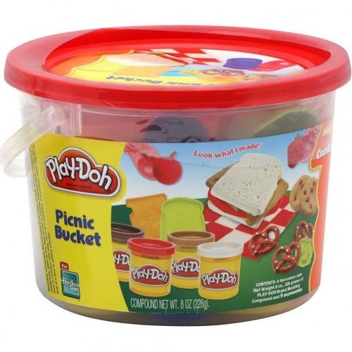Игровой Play-Doh в ведерке 'Пикник' Бишкек и Ош купить в магазине игрушек LEMUR.KG доставка по всему Кыргызстану