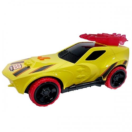 Машинка Hot Wheels на бат. свет+звук жёлтая 27 см Бишкек и Ош купить в магазине игрушек LEMUR.KG доставка по всему Кыргызстану