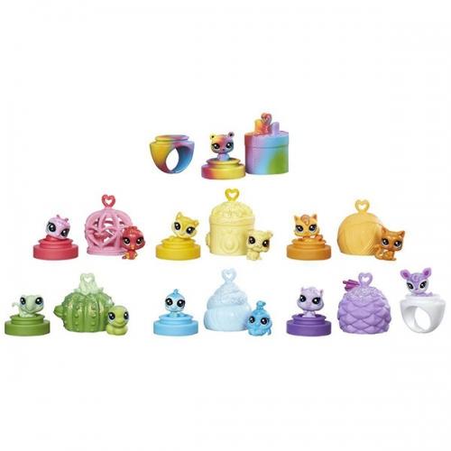Набор Littlest Pet Shop 12 крошечных Радужных петов Бишкек и Ош купить в магазине игрушек LEMUR.KG доставка по всему Кыргызстану