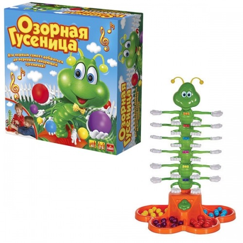 Интерактивная игра 'Озорная гусеница' Бишкек и Ош купить в магазине игрушек LEMUR.KG доставка по всему Кыргызстану