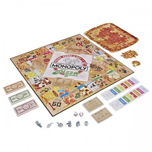 Настольная игра 'Монополия Пицца' Бишкек и Ош купить в магазине игрушек LEMUR.KG доставка по всему Кыргызстану