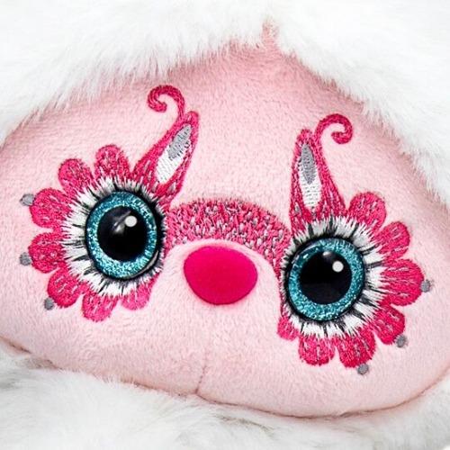 Мягкая игрушка Лори Колори - Юки (белый) 25 см Бишкек и Ош купить в магазине игрушек LEMUR.KG доставка по всему Кыргызстану