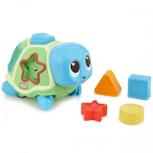 Развивающая Ползающая черепаха-сортер, звук. эф-ты Бишкек и Ош купить в магазине игрушек LEMUR.KG доставка по всему Кыргызстану