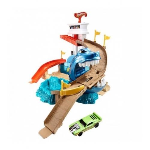 Игровой набор Hot Wheels 'Порт акул' Бишкек и Ош купить в магазине игрушек LEMUR.KG доставка по всему Кыргызстану