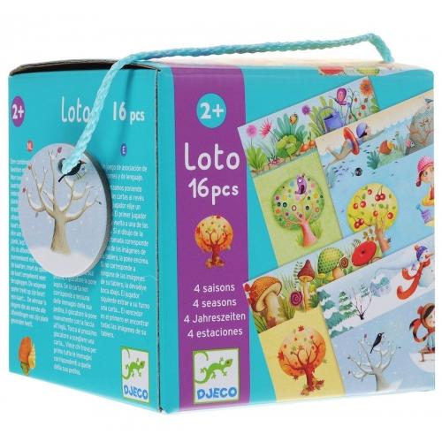Djeco Лото 4 сезона Бишкек и Ош купить в магазине игрушек LEMUR.KG доставка по всему Кыргызстану