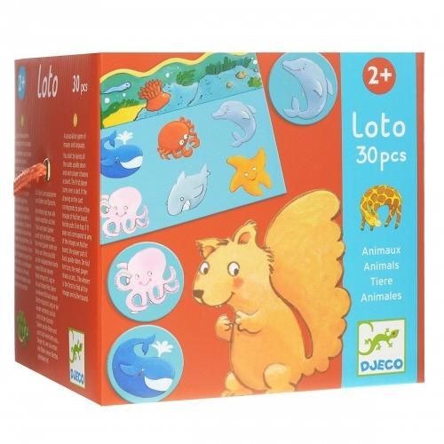 Djeco Лото Животные Бишкек и Ош купить в магазине игрушек LEMUR.KG доставка по всему Кыргызстану
