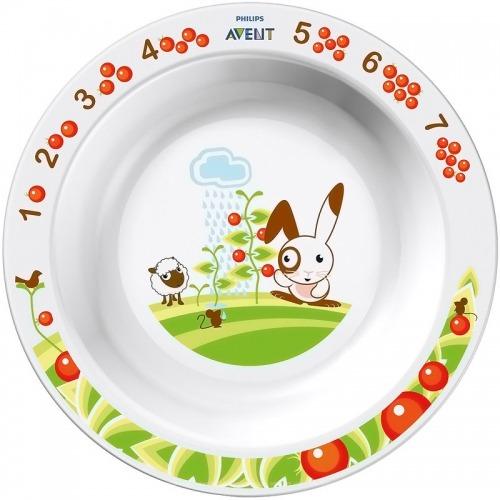 Avent Глубокая тарелка 450 мл., 12 м+ Бишкек и Ош купить в магазине игрушек LEMUR.KG доставка по всему Кыргызстану