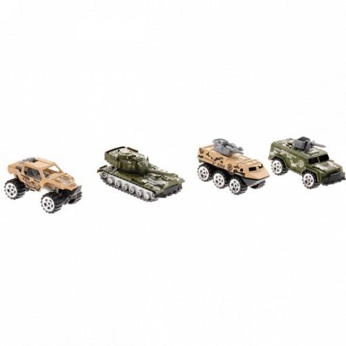 Игровой набор Boley 'Военные' (4 шт) Бишкек и Ош купить в магазине игрушек LEMUR.KG доставка по всему Кыргызстану