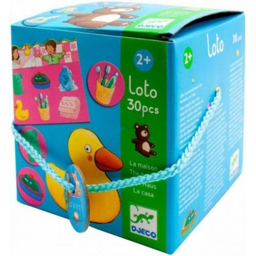 Djeco Лото Дом Бишкек и Ош купить в магазине игрушек LEMUR.KG доставка по всему Кыргызстану