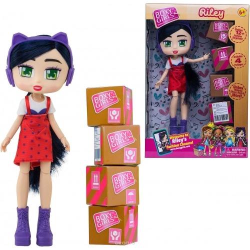 Куклы с сюрпризами Boxy Girls Riley Бишкек и Ош купить в магазине игрушек LEMUR.KG доставка по всему Кыргызстану