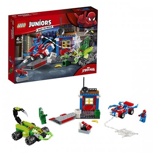 LEGO: Решающий бой Человека-паука против Скорпиона Бишкек и Ош купить в магазине игрушек LEMUR.KG доставка по всему Кыргызстану