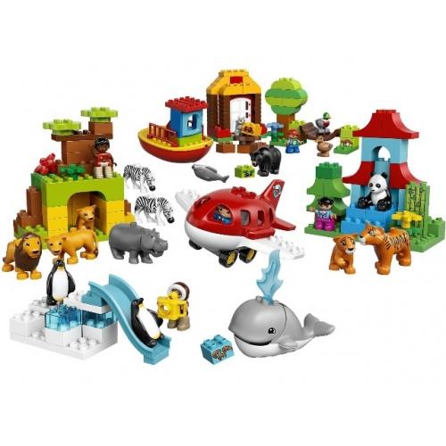 LEGO: Вокруг света: В мире животных Бишкек и Ош купить в магазине игрушек LEMUR.KG доставка по всему Кыргызстану