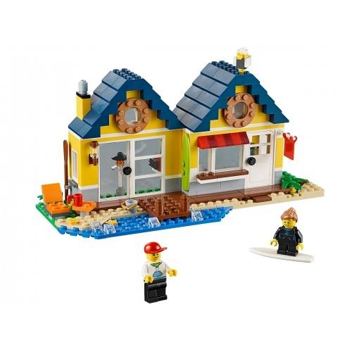 LEGO: Домик на пляже Бишкек и Ош купить в магазине игрушек LEMUR.KG доставка по всему Кыргызстану