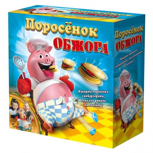 Интерактивная игра 'Поросенок обжора' Бишкек и Ош купить в магазине игрушек LEMUR.KG доставка по всему Кыргызстану