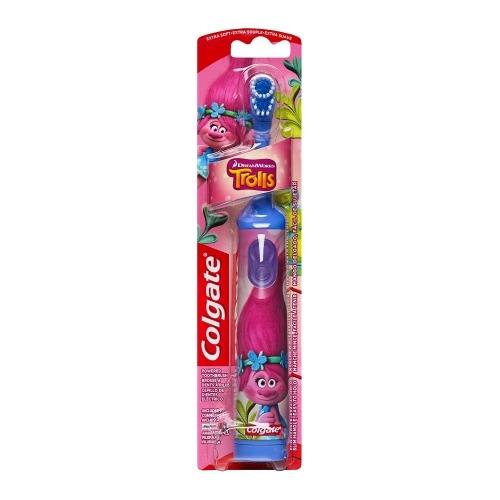 Детская электрическая зубная щетка Colgate Тролли Бишкек и Ош купить в магазине игрушек LEMUR.KG доставка по всему Кыргызстану