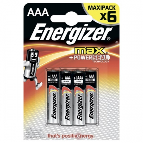 Батарейки Energizer MАХ AAА (4 шт.) Бишкек и Ош купить в магазине игрушек LEMUR.KG доставка по всему Кыргызстану