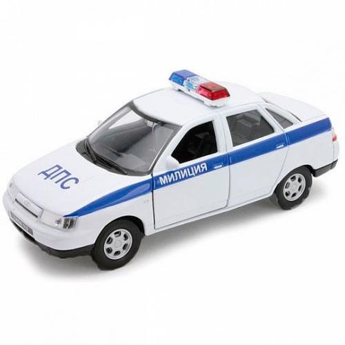 Welly модель машины  1:34-39 Lada Priora полиция Бишкек и Ош купить в магазине игрушек LEMUR.KG доставка по всему Кыргызстану