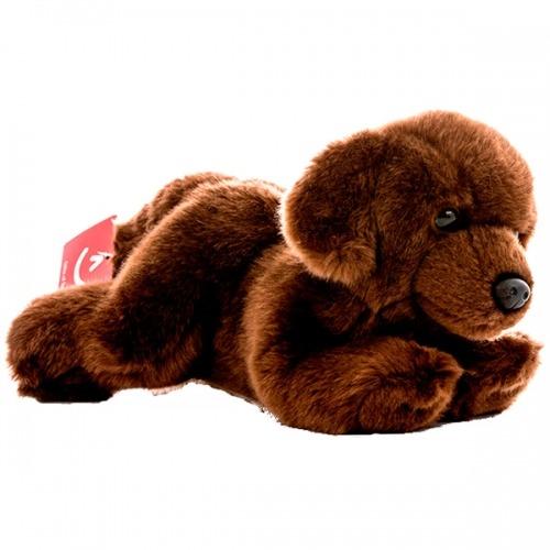 Мягкая игрушка Aurora Шоколадный лабрадор 28 см Бишкек и Ош купить в магазине игрушек LEMUR.KG доставка по всему Кыргызстану
