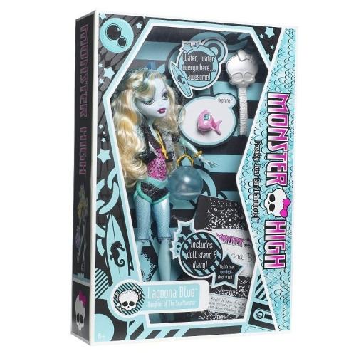 Monster High Лагуна Блю с питомцем Первый Выпуск Бишкек и Ош купить в магазине игрушек LEMUR.KG доставка по всему Кыргызстану