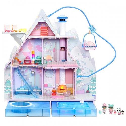 L.O.L. Surprise! Огромный дом Зимнее Шале Бишкек и Ош купить в магазине игрушек LEMUR.KG доставка по всему Кыргызстану