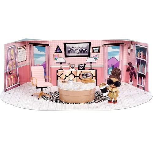 Набор мебели L.O.L. Surprise! Школьный офис с куклой Boss Queen Бишкек и Ош купить в магазине игрушек LEMUR.KG доставка по всему Кыргызстану