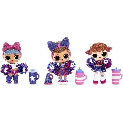 Кукла L.O.L. Surprise! Блестящая из бейсбольной команды 2 серия Бишкек и Ош купить в магазине игрушек LEMUR.KG доставка по всему Кыргызстану