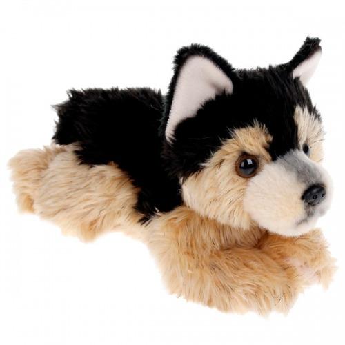 Мягкая игрушка Aurora Немецкая Овчарка щенок 22 см Бишкек и Ош купить в магазине игрушек LEMUR.KG доставка по всему Кыргызстану