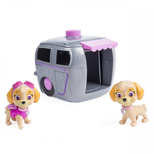 Paw Patrol игровой набор два щенка в домике Бишкек и Ош купить в магазине игрушек LEMUR.KG доставка по всему Кыргызстану