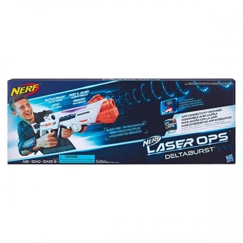 Бластер Nerf Лазер Опс Дельтабёрст Бишкек и Ош купить в магазине игрушек LEMUR.KG доставка по всему Кыргызстану