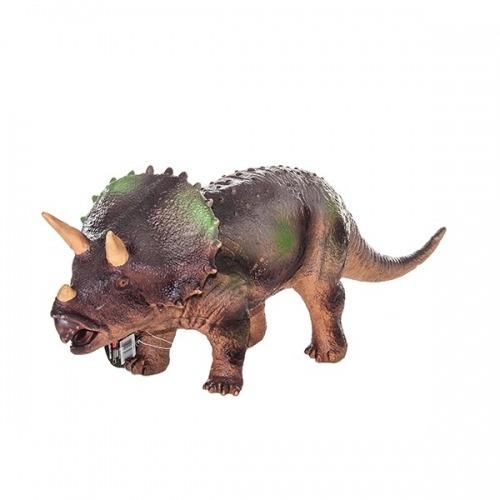 Фигурка динозавра,Трицератопс, 18х49 см Бишкек и Ош купить в магазине игрушек LEMUR.KG доставка по всему Кыргызстану