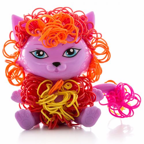 Набор Cra-Z-Loom фигурка Котик и цветные резиночки Бишкек и Ош купить в магазине игрушек LEMUR.KG доставка по всему Кыргызстану