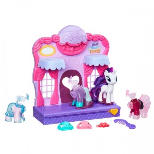 Hasbro My Little Pony Бутик Рарити в Кантерлоте Бишкек и Ош купить в магазине игрушек LEMUR.KG доставка по всему Кыргызстану
