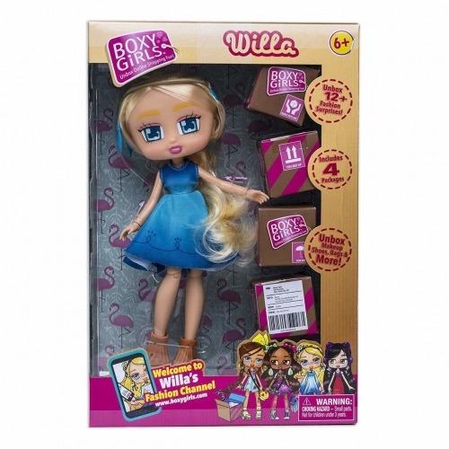 Куклы с сюрпризами Boxy Girls Willa Бишкек и Ош купить в магазине игрушек LEMUR.KG доставка по всему Кыргызстану