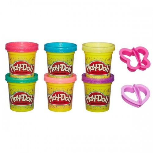 Набор Play-Doh 6 баночек Бишкек и Ош купить в магазине игрушек LEMUR.KG доставка по всему Кыргызстану