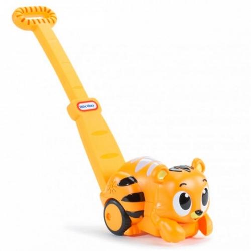 Развивающая каталка Тигр со световыми эф-ми Бишкек и Ош купить в магазине игрушек LEMUR.KG доставка по всему Кыргызстану