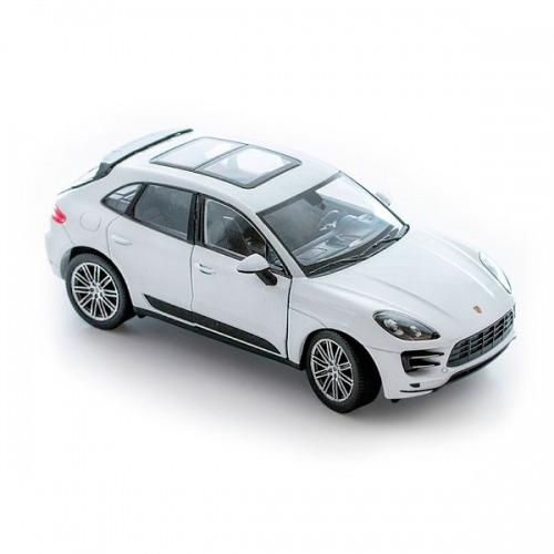 Welly модель машины 1:24 Porsche Macan Turbo Бишкек и Ош купить в магазине игрушек LEMUR.KG доставка по всему Кыргызстану