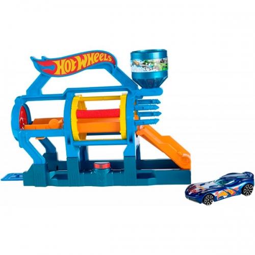 Игровой набор Hot Wheels 'Супер-мойка' Бишкек и Ош купить в магазине игрушек LEMUR.KG доставка по всему Кыргызстану