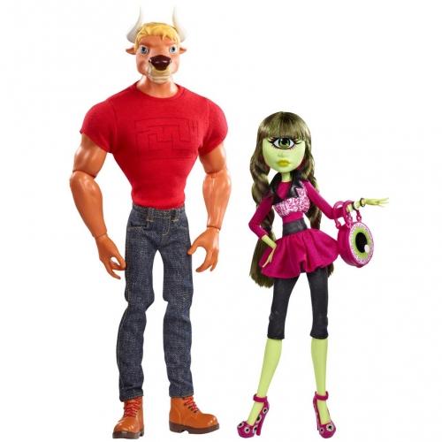 Monster High Комик Кон 2014 Мэнни Таур и Айрис Клопс Бишкек и Ош купить в магазине игрушек LEMUR.KG доставка по всему Кыргызстану