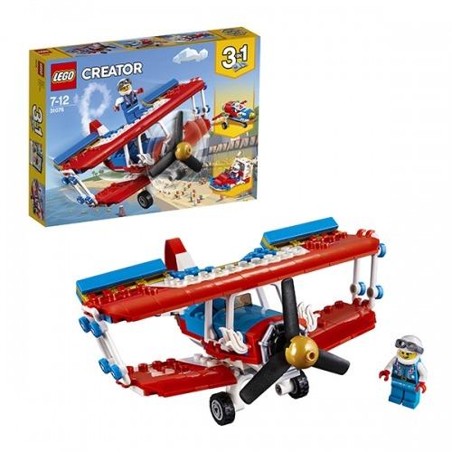 LEGO: Самолёт для крутых трюков Бишкек и Ош купить в магазине игрушек LEMUR.KG доставка по всему Кыргызстану