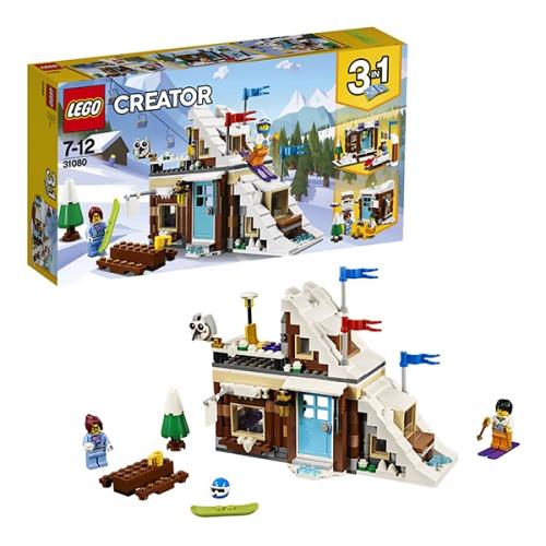LEGO: Зимние каникулы (модульная сборка) Бишкек и Ош купить в магазине игрушек LEMUR.KG доставка по всему Кыргызстану